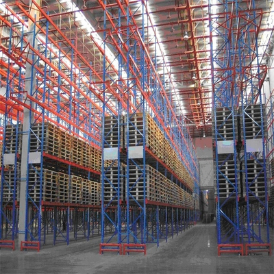 Corrosion Protection Customized Adjustable Heavy Duty Selective Pallet Rack