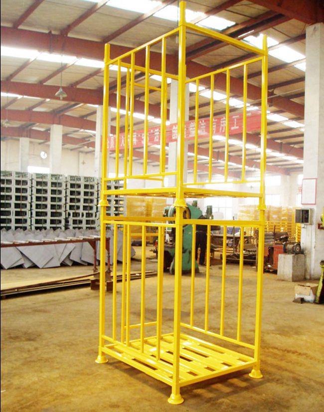 Powder Coating Steel Demountable Heavy Duty Stacking Rack