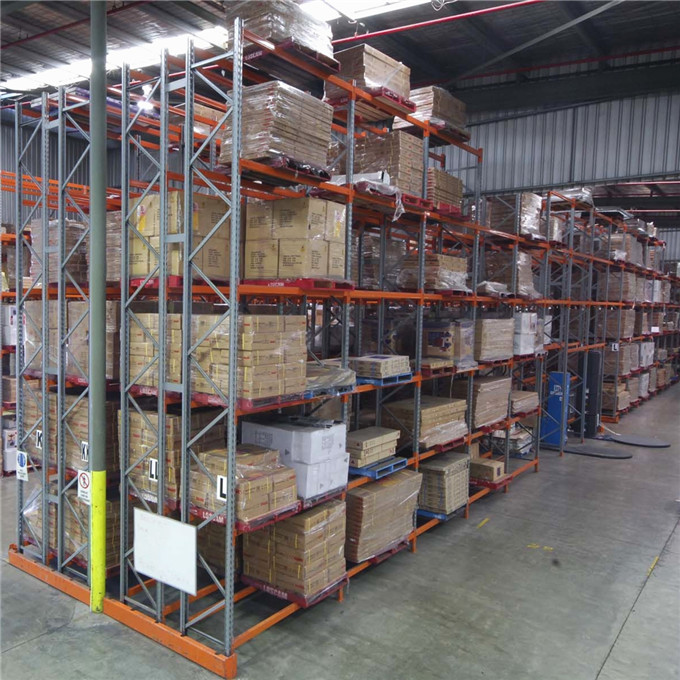 ISO Approved Steel Fabric Roll Pallet Racking From China