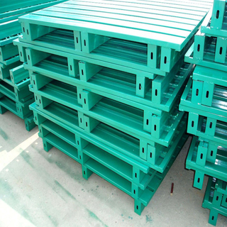 Galvanized or Powder Coating 4 Entry Way Customized Steel Pallet