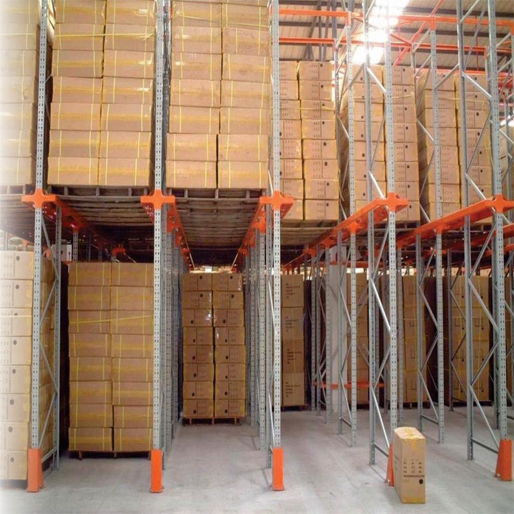 Factory Price Cold Rolled Steel Heavy Duty Colorful Drive In Pallet Rack