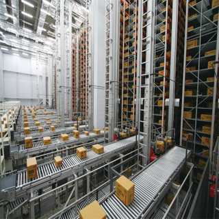 High Density Industrial Automatic Storage Racking Heavy Duty Warehouse ASRS System