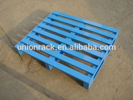 Economical power coating steel pallets