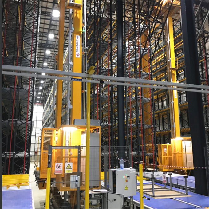 Warehouse Automated Storage And Retrieval System