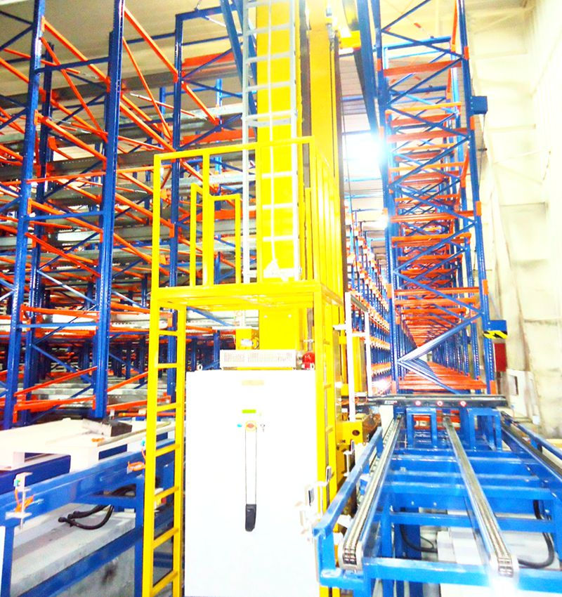 Warehouse Management Automated storage and retrieval system ASRS Rack