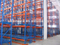 Selective industrial warehouse storage pallet rack system