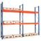 Stable Metal Deck Panel Support Medium Duty Longspan Shelving With Adjustable Holes