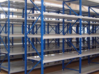 The usage of Middle Duty Shelving B