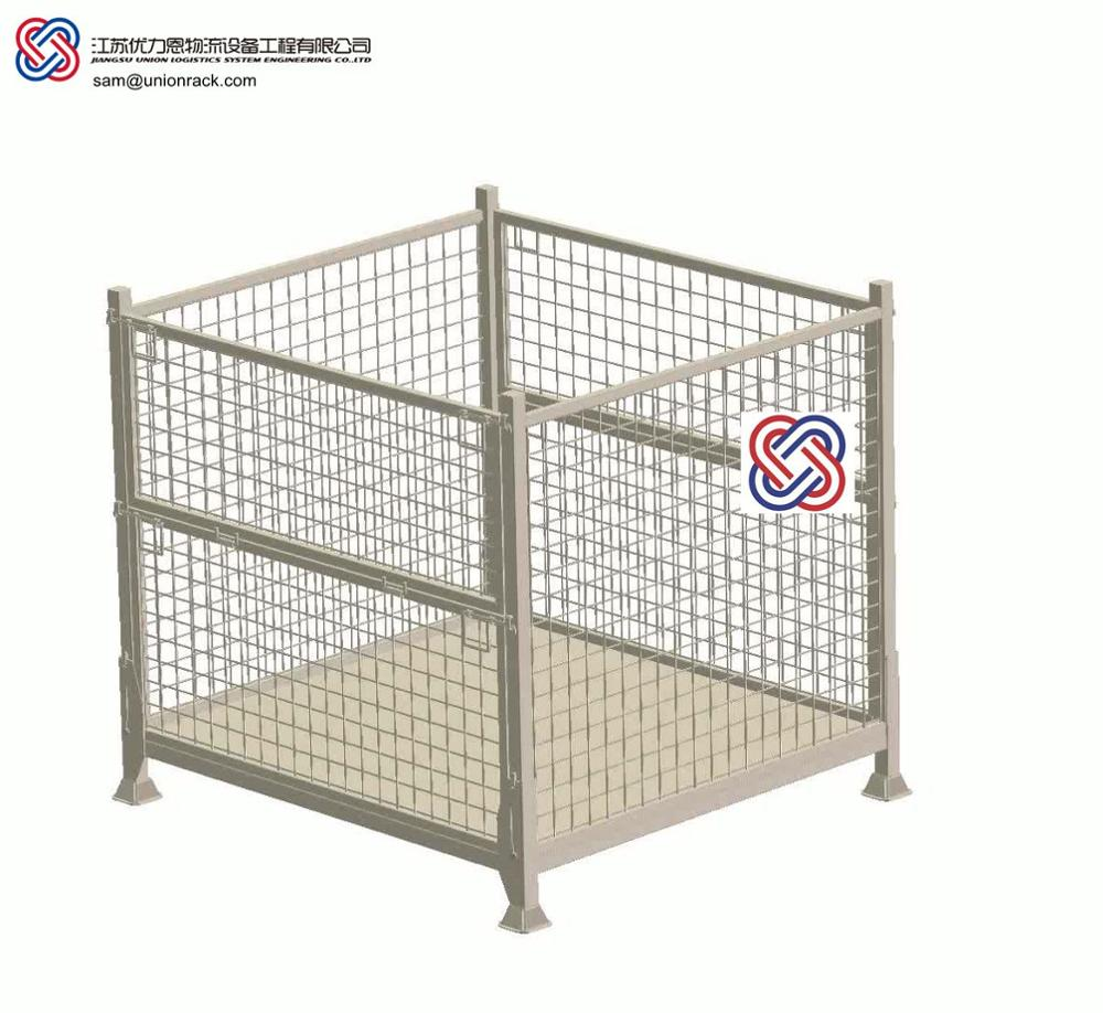 Storage Corrosion Prevention Stackable Galvanized Wire Mesh Cage