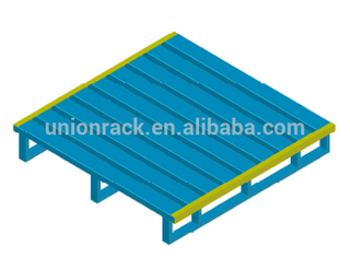 Customized power coating heavy duty steel pallet metal pallet