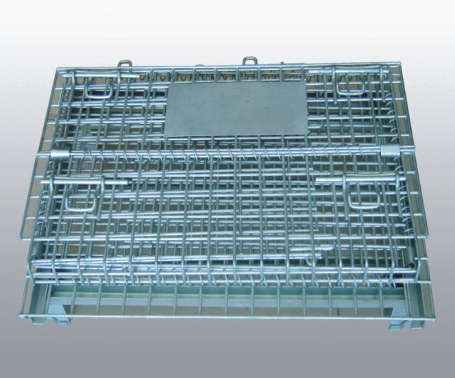 Heavy Duty Galvanized Storage Cage With Wire Mesh