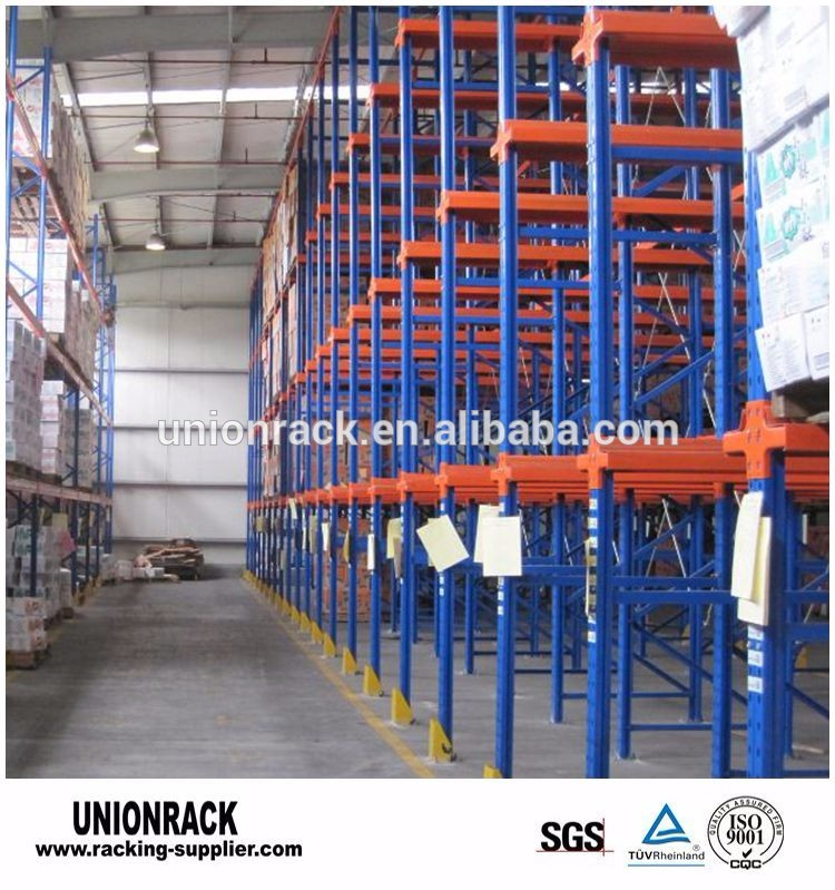 Heavy duty drive in drive through pallet Racking