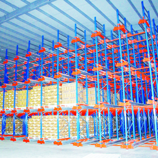CE Certificated Heavy Duty Warehouse Storage Rack Pallet Shuttle Racking System Radio Shuttle Rack