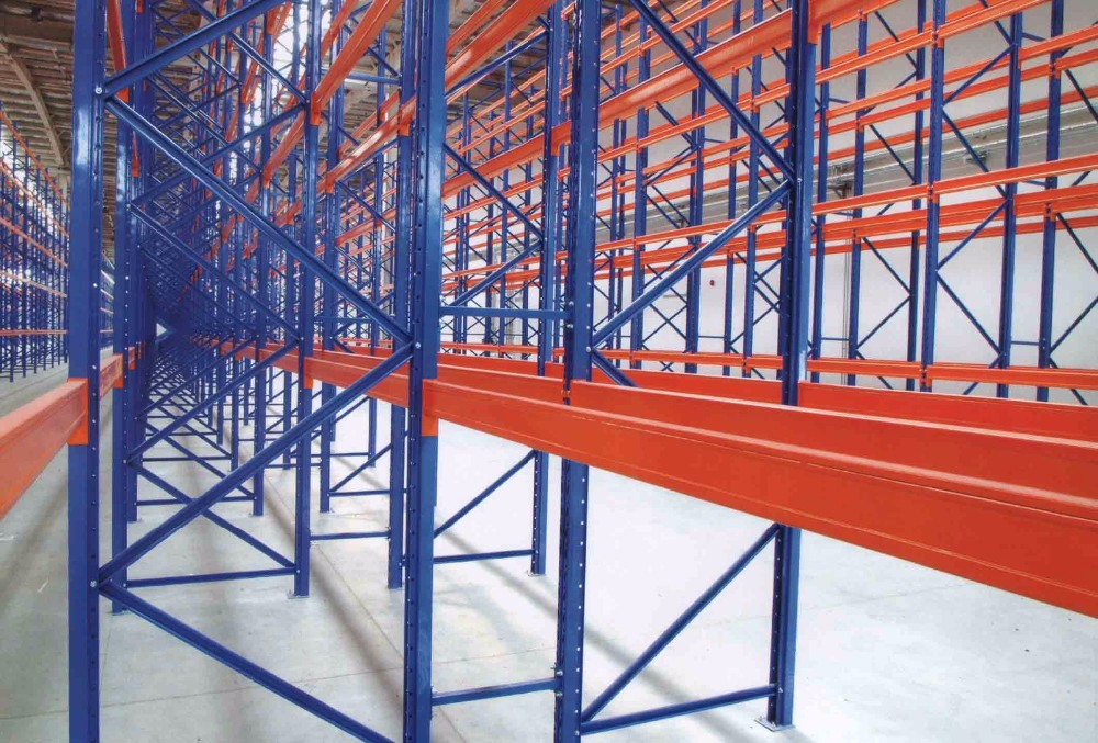 Warehouse Storage Industry High Quality Q235B Steel Pallet Rack Heavy Duty Shelving