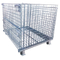 Heavy Duty Industrial Lockable Collapsible Warehouse Wire Mesh Container