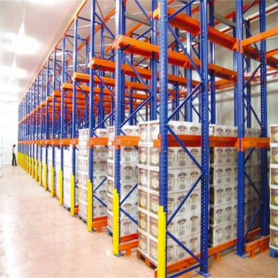 High Density Warehouse Heavy Duty Cold Storage Drive In Rack
