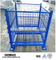 Industrial Warehouse Collapsible and Stackable Wire Mesh Pallet Box