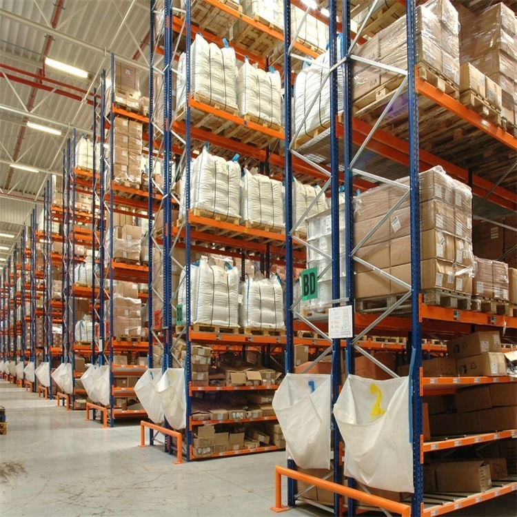 Industrial Cold Rolled Warehouse Storage Heavy Duty Selective Pallet Racking