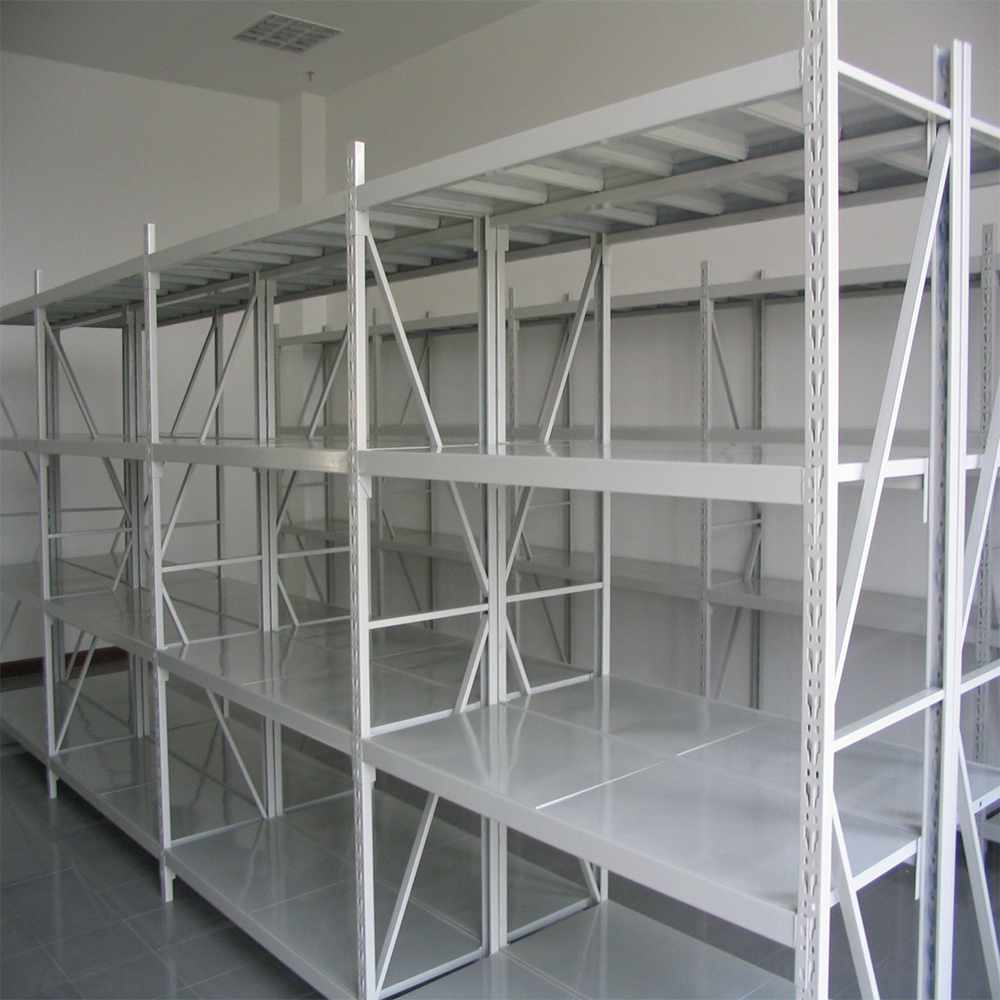 Warehouse Long span Medium Duty Shelving With Best Steel