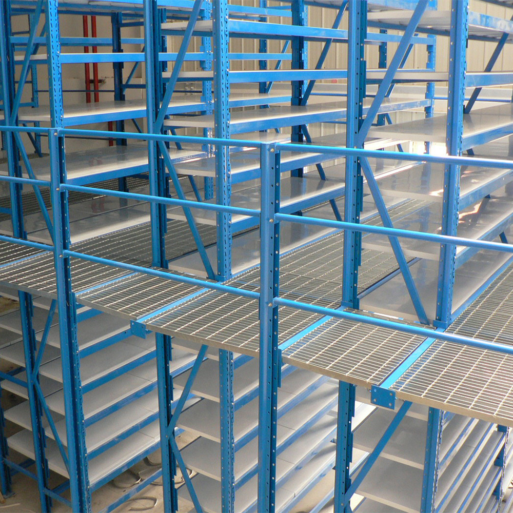 Customized Warehouse Steel Mezzanine Rack Or Platform
