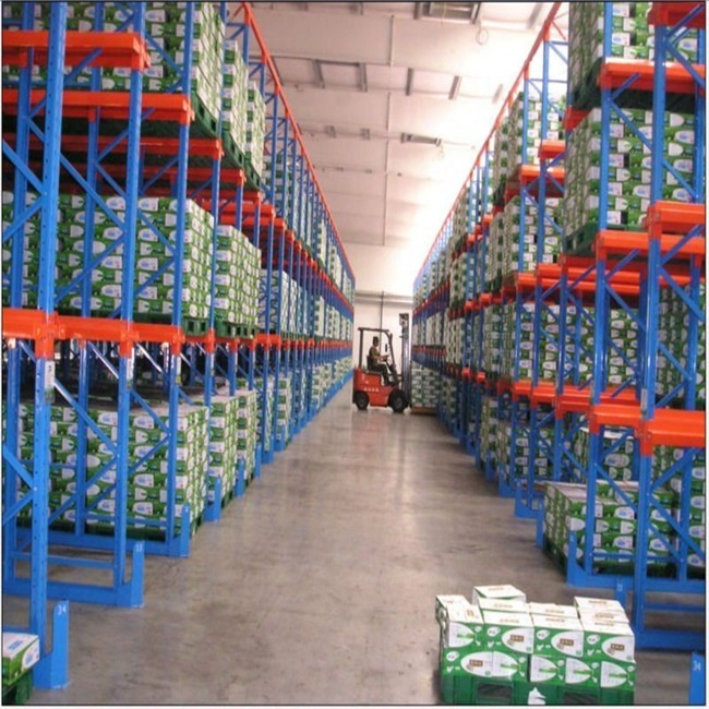Nanjing Union Factory Selling Warehouse Storage Heavy Duty Drive-in Pallet Rack