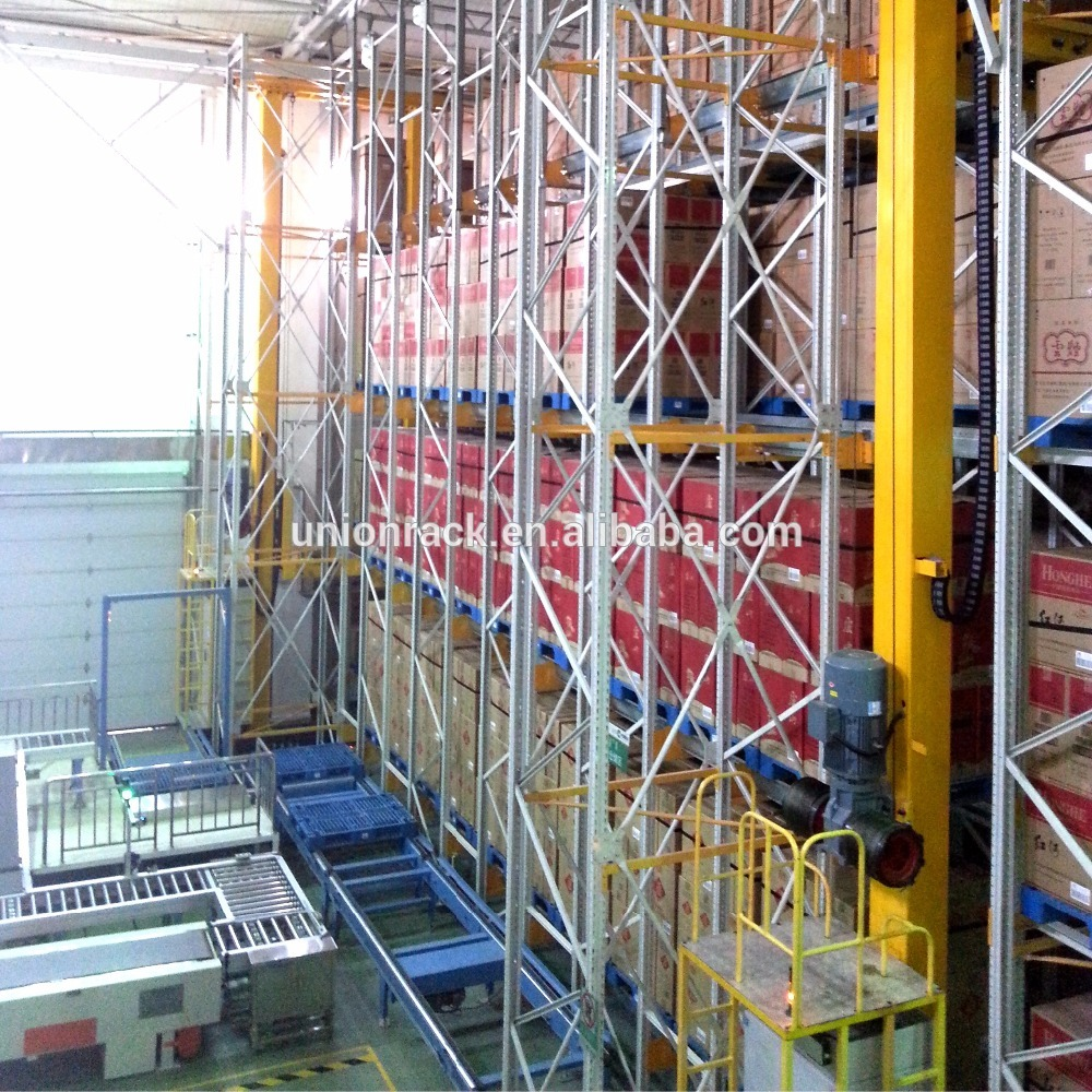 Rack supported warehouse automated asrs racking system