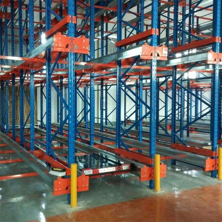 Semi-automated Popular FILO Radio Shuttle Racking