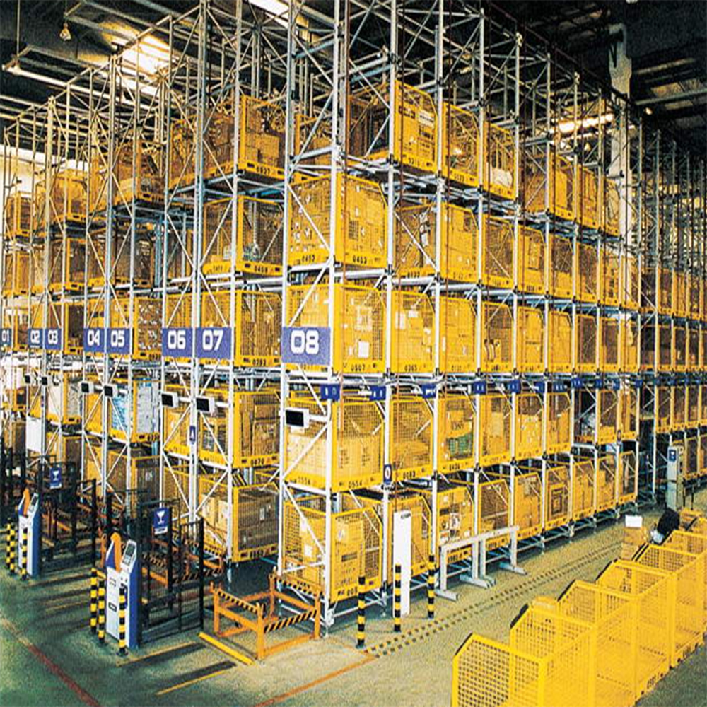 Automatic Storage Rack System For Logistic System