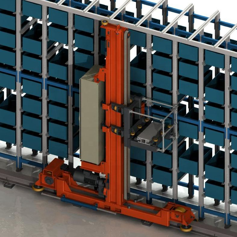 Industry 4.0 High Dense And Efficient Automated Warehouse Asrs Rack