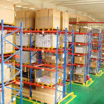 Powder coated heavy duty storage beam pallet shelf