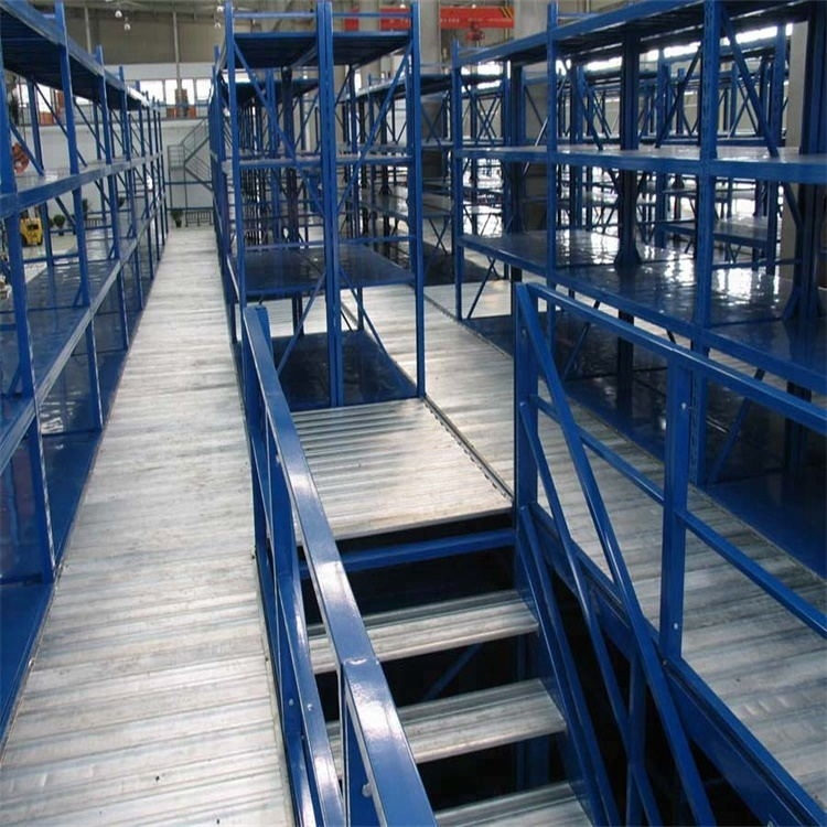 High Quality Q235 Steel Warehouse Multi-level Racking Supported Mezzanine