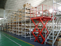 Mezzanine Racking Feature