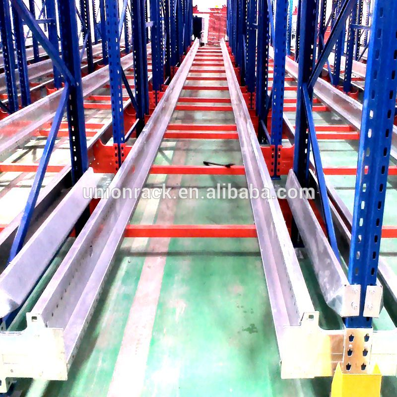 High Quality Corrosion Prevention Radio Shuttle Rack Warehouse Pallet Shelving