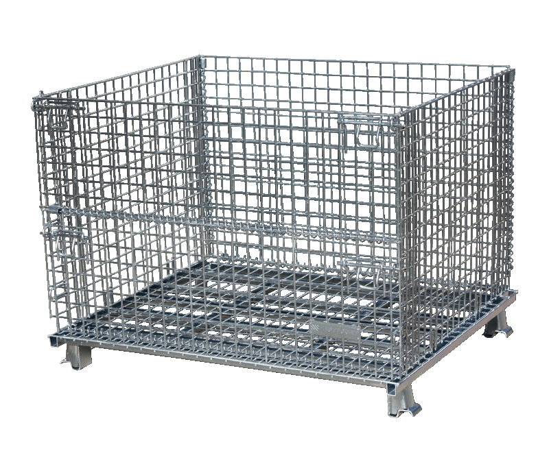 Stackable Galvanized Wire Mesh Box