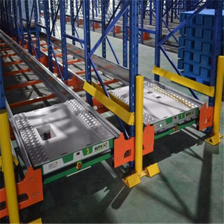 Customized Q235 Steel High Density Heavy Duty Radio Pallet Shuttle Rack