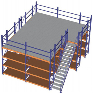 Corrosion protection steel mezzanine floor details