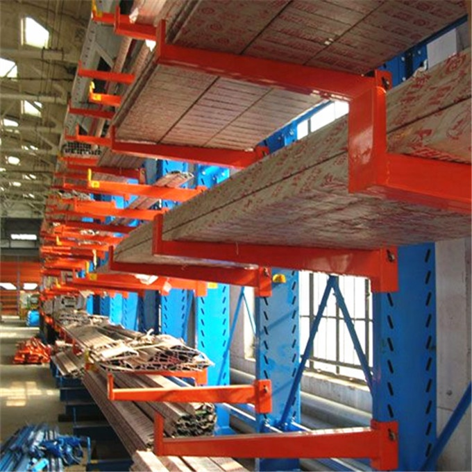 Heavy Duty Warehouse Storage Powder Coating Cantilever Rack shelf
