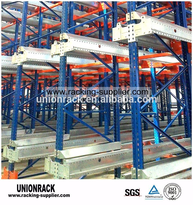Commercial Pallet Runner Automated Storage System Radio Shuttle Rack