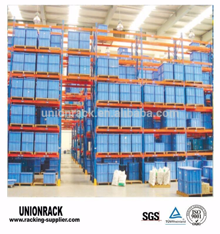 Selective Metal Steel Q235 Warehouse Storage Pallet Racks
