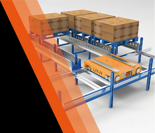 Jiangsu Union Smart 4-direction Shuttle Robot/ 4-way shuttle car racking system for warehouse storage